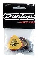 Jim Dunlop (ジム ダンロップ) PVP101 ギター ピック ライト/ミディアム ゲージ バラエティパック