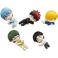 ぐっすりおやすみ黒子のバスケ アニメ フィギュア ガチャ バンダイ(全5種フルコンプセット)