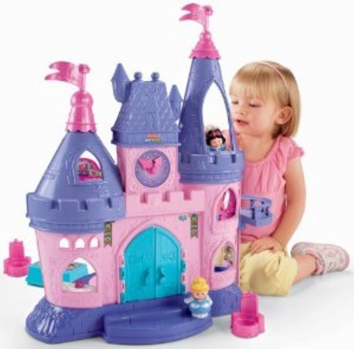 Fisher-Price (フィッシャープライス) Little People Disney (ディズニー) Princess Songs Palace(並行輸入)