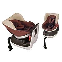 コンビ Combi 回転型チャイルドシート ネセルターン EC アガットブラウン (新生児~4歳頃対象) 指一本360度ターン