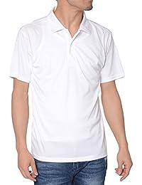 ティーシャツドットエスティー ポロシャツ ドライ 半袖 無地 薄手 3.5oz メンズ
