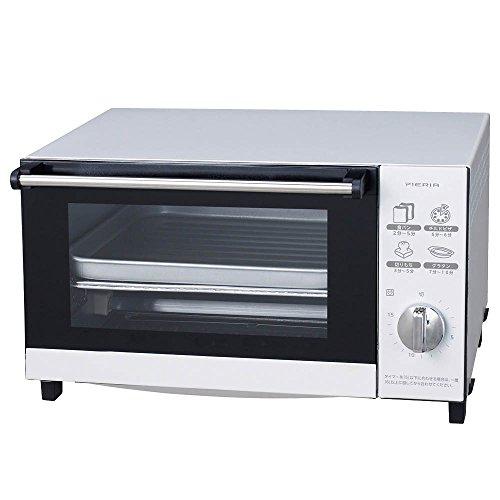 ドウシシャ ビッグオーブントースター 1200W 4枚焼き ピエリア ホワイト TOD-1505 WH TOD-1505 WH