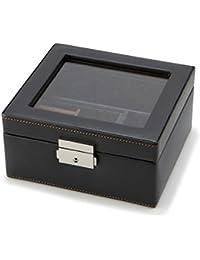 [ラ ヴィータ イデアーレ]LA VITA IDEALE メンズ 小物収納ボックスM 240-575BK