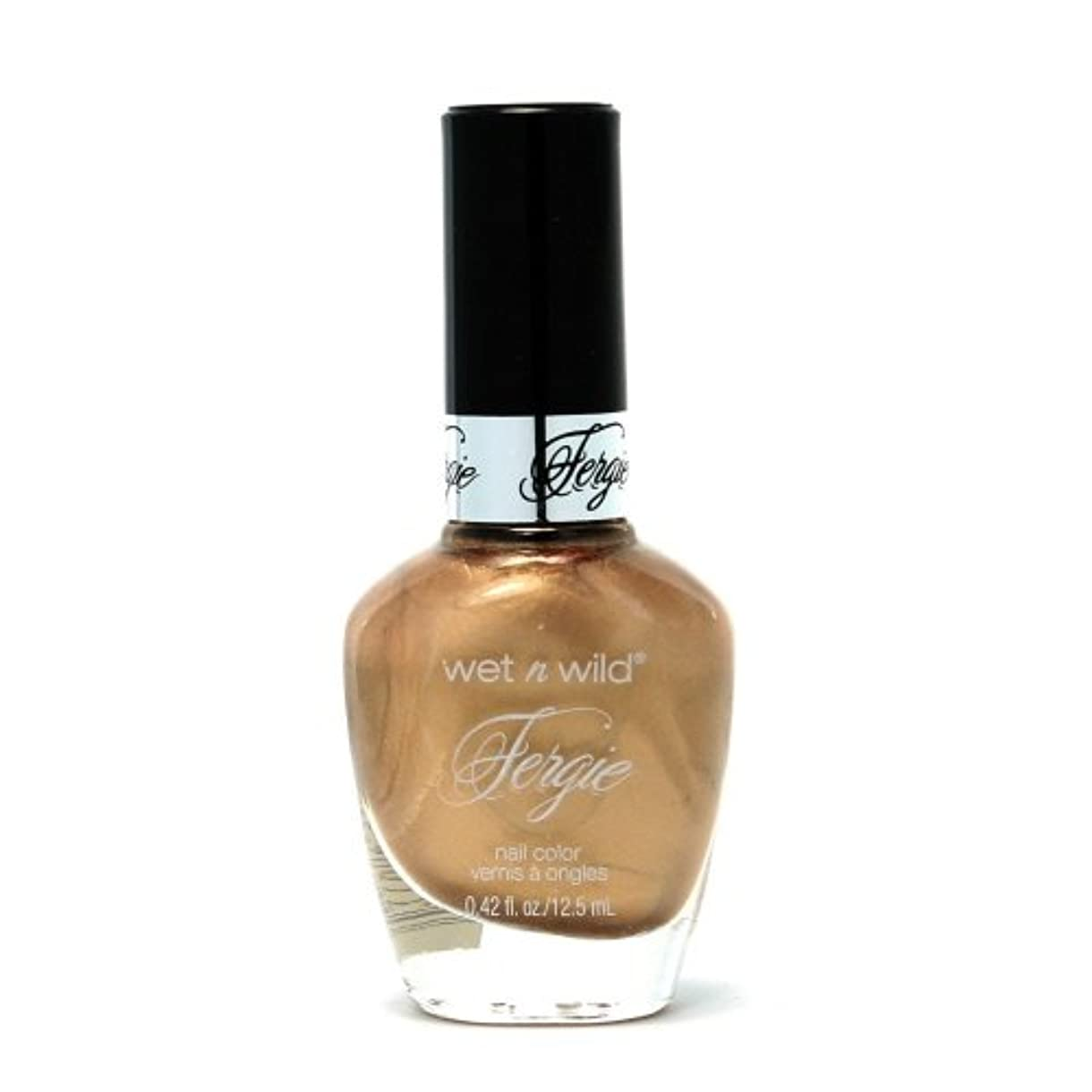 レッスンテンポコンテンポラリーWET N WILD Fergie Heavy Metal Nail Polish - Happy Holidaze (DC) (並行輸入品)