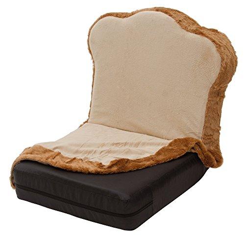 セルタン カバーリングトースト座椅子 DPN1a-トースト+PN1-92BK