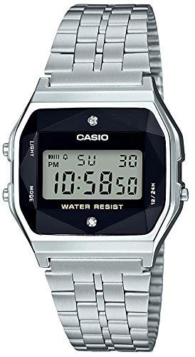 [カシオ]CASIO 腕時計 スタンダード 天然 ダイヤモンド 付 A159WAD-1JF