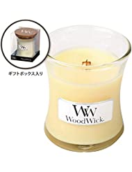 WoodWick(ウッドウィック) Wood WickジャーS 「レモングラス&リリー」(W9000550)