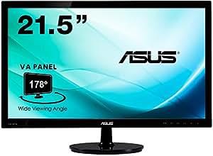 ASUS ディスプレイ モニター 21.5型 ( VA / 178°広視野角 / フルHD / HDMI, DVI-D, D-Sub / 3年保証 ) VS229HA