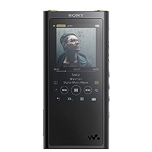 ソニー SONY ウォークマン ZXシリーズ 128GB NW-ZX300G : φ4.4mmバランス出力対応 Bluetooth microSD対応 ハイレゾ対応 最大30時間連続再生 2018年モデル ブラック NW-ZX300G B