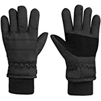 Baby Toddler Waterproof Thermal Winter Snow Fleece Lined Insulated Gloves 1-3
