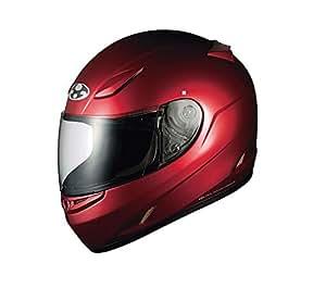 オージーケーカブト(OGK KABUTO)バイクヘルメット フルフェイス FF-R3 シャイニーレッド S (頭囲 55cm~56cm)