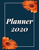 Planner 2020: Pretty Simple Planner |  2020 Planner (8.5′ x 11′ ) , 128  pages