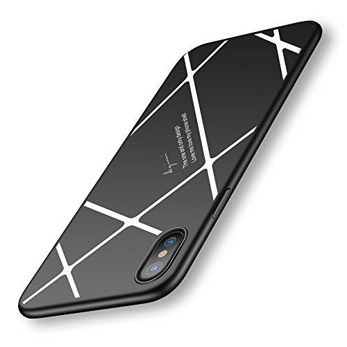 YURI iPhone X ケース 超薄 超軽量 高品質PC...