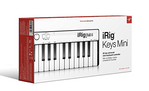 IK Multimedia iRig Keys Mini  iOS,Android,Mac/Win対応モバイル・キーボード【国内正規品】