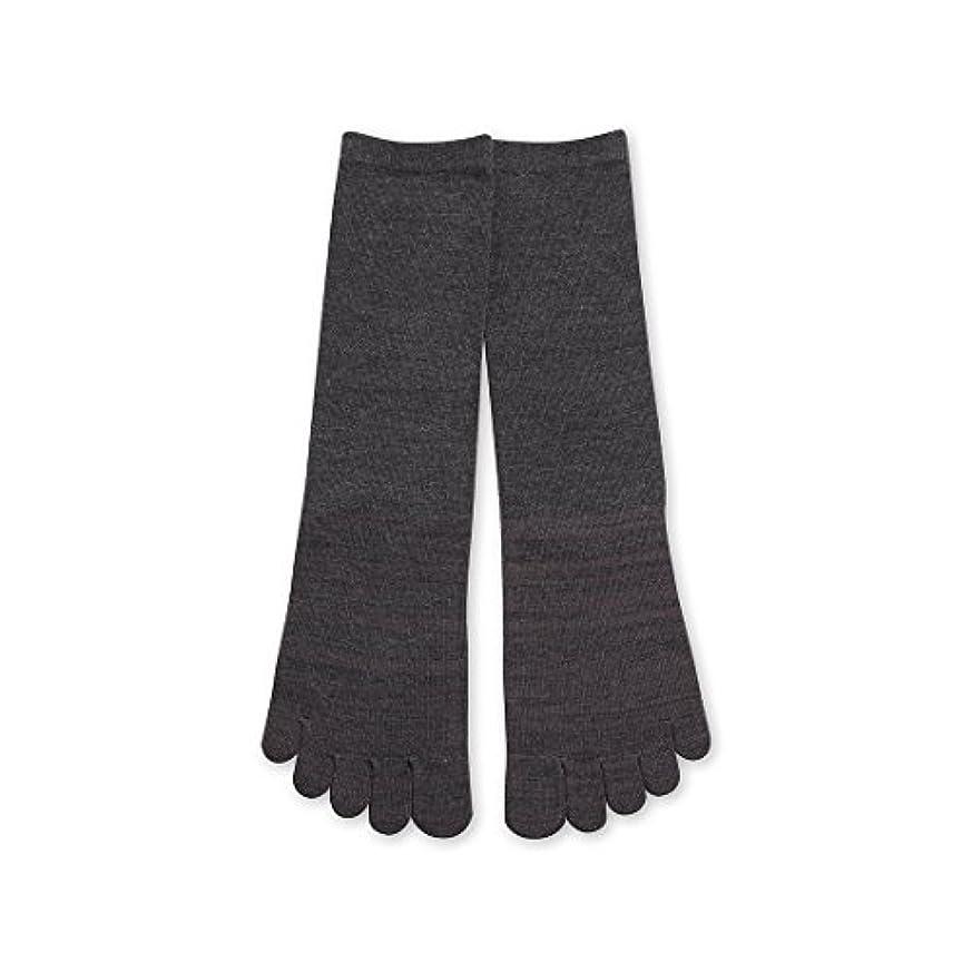 下品八不適Deol(デオル) 5本指 ソックス 男性用 靴下 25~27cm グレー