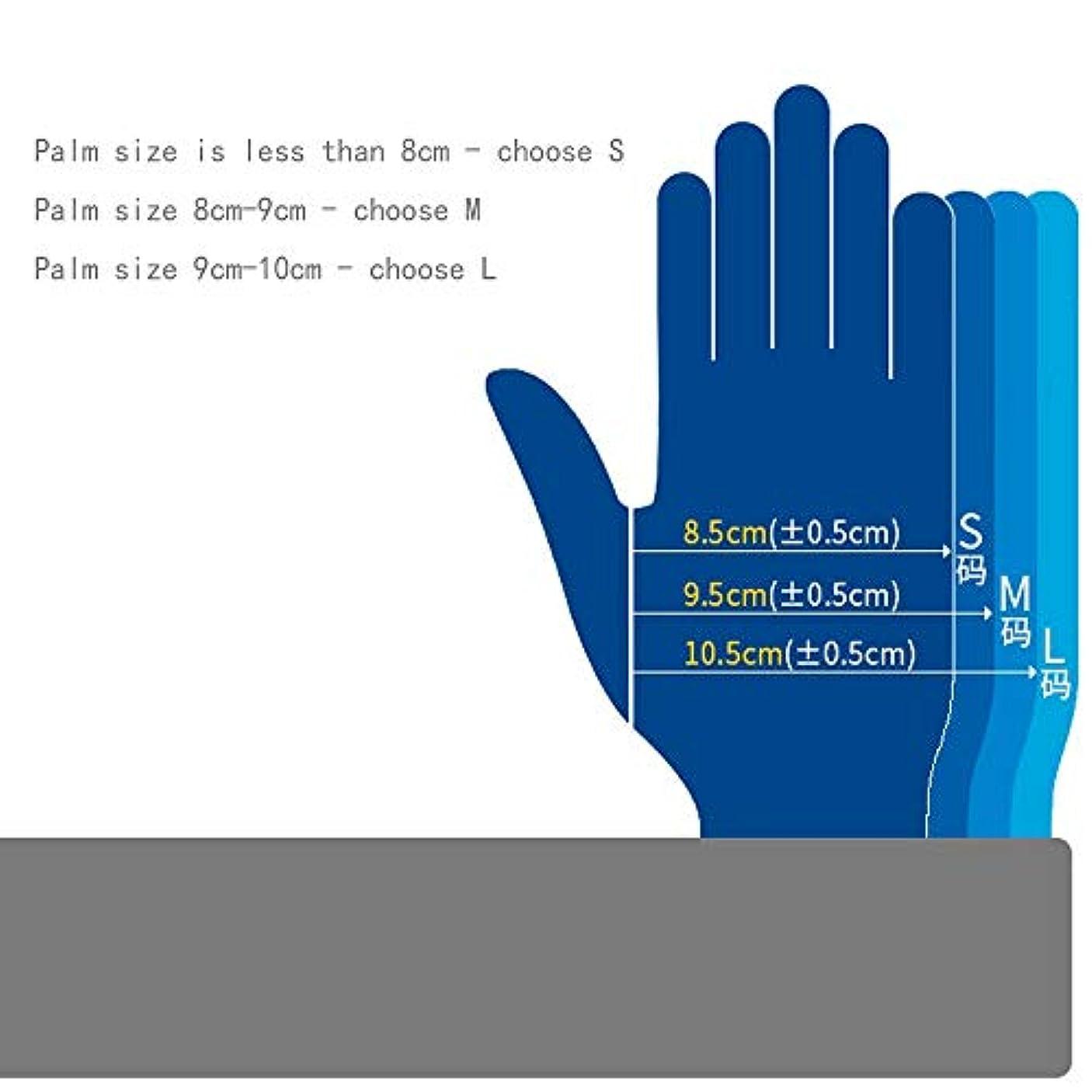 人口インフラシロナガスクジラ応急処置用品クリーンルーム、クラスニトリル手袋、長さ12