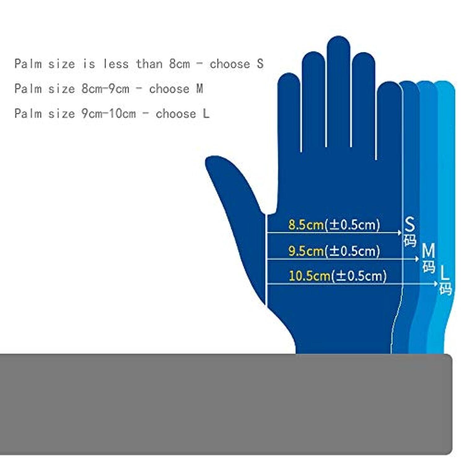 具体的にデコレーション透ける応急処置用品クリーンルーム、クラスニトリル手袋、長さ12