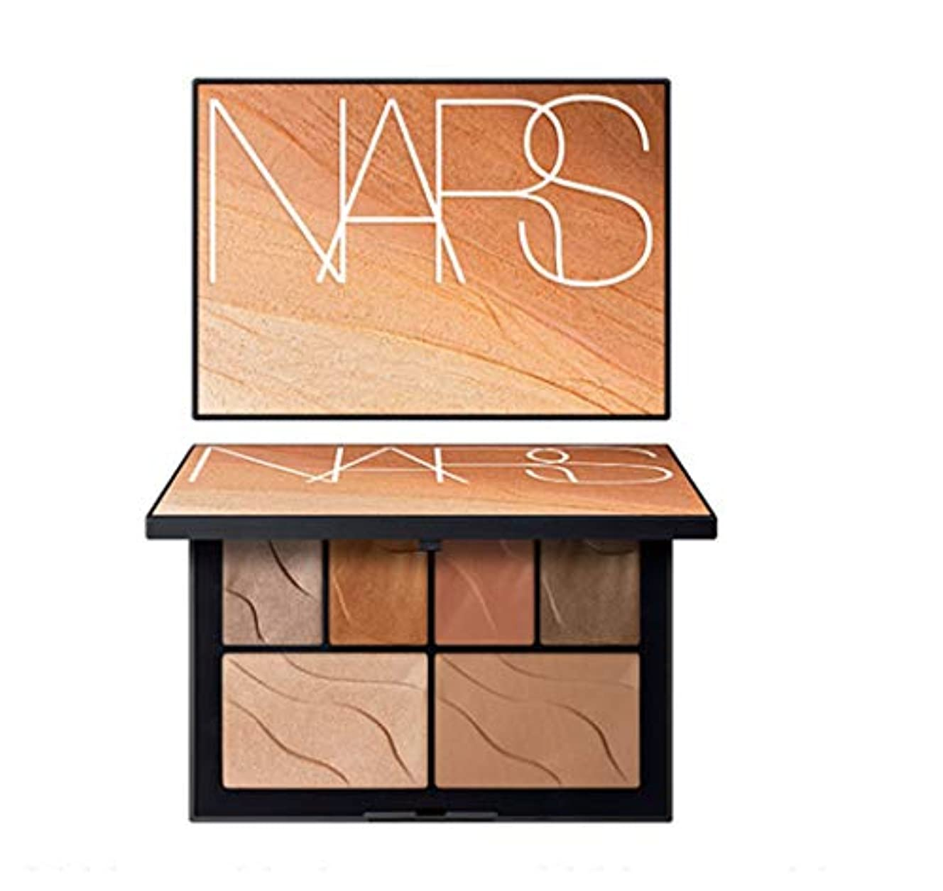 バンカー凶暴な信号NARS(ナーズ)[2019 Summer Color Collection] Face Palette HEAT OF THE NIGHT #summer lights(並行輸入品)