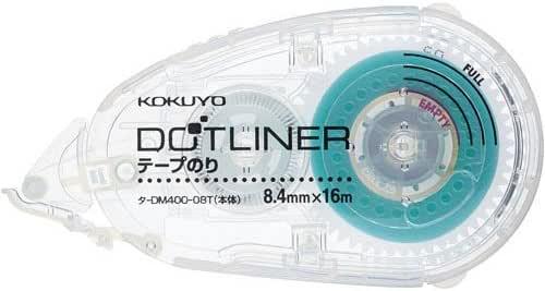 コクヨ ドットライナー(本体)・透明 10個