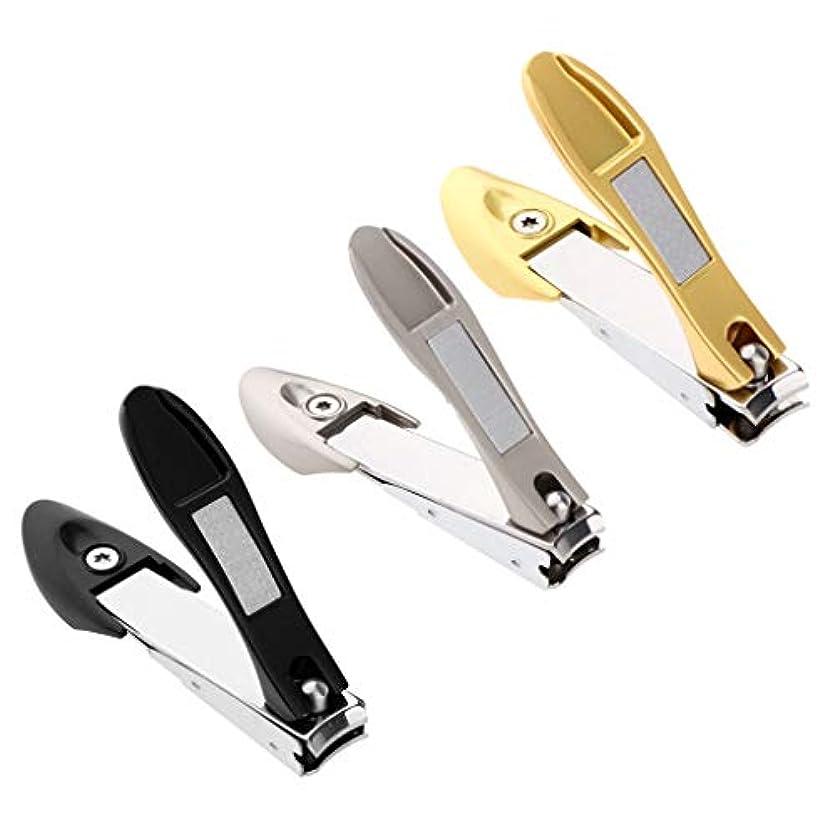創始者電極扱いやすいPerfeclan 爪切り つめきり ステンレス製 厚い爪/巻き爪 に最適切れ 飛び散り防止 携帯便利 3個入り
