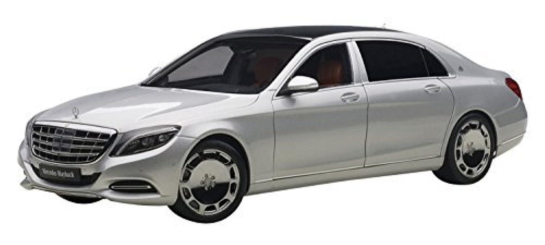 AUTOart 1 / 18 Mercedes Maybach S 600 (シルバー)