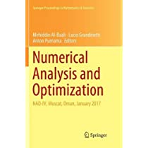 Numerical Analysis and Optimization: NAO-IV, Muscat, Oman, January 2017 (Springer Proceedings in Mathematics & Statistics)