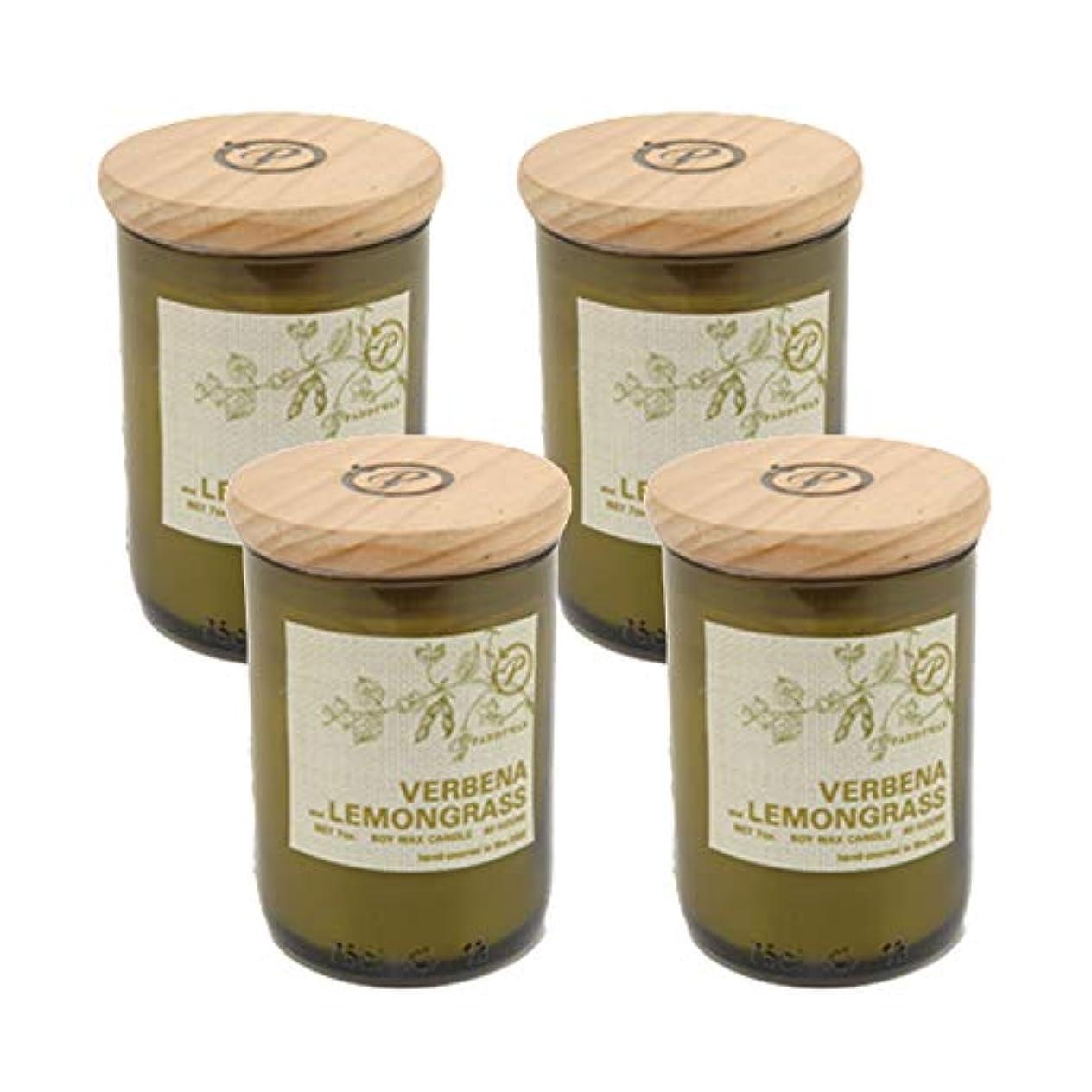 コントローラ好色な同情Paddywax EcoグリーンリサイクルガラスCandle、Verbena &レモングラス