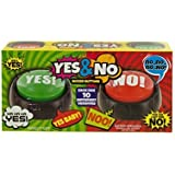 Talking Yes & No Buzzer Buttons - Pack of 2