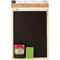 Kole Imports OF462 Wooden Chalkboard Set