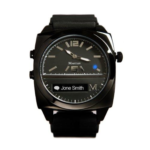スマートウォッチ : マーシャンウォッチ・ヴィクトリー・ブラック (Martian Watches Victory Black)