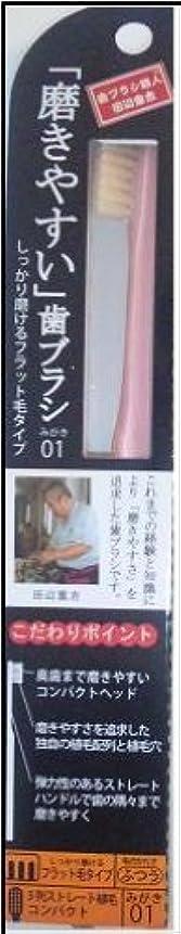 何細胞ロンドン磨きやすい歯ブラシ(フラット) 1P*12本入り