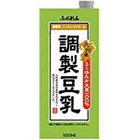 ふくれん 九州産ふくゆたか大豆調製豆乳 1000ml×6本