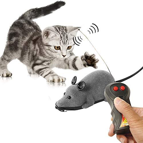 Urhomy 猫おもちゃ ネズミ 猫まっしぐら ラジコン 犬にも 運動不足解消 猫ダイエット 暴走マ...