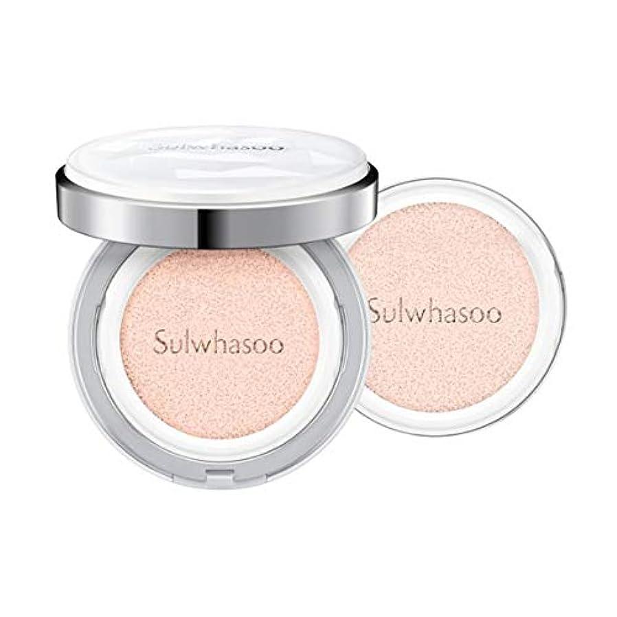 ジョージエリオット新着ドール[Sulwhasoo]雪花秀(ソルファス)滋晶(ジャジョン)ブライトニングクッション #21ナチュラルピンク SPF50+/PA+++ Snowise Brightening Cushion 21 Natural Pink