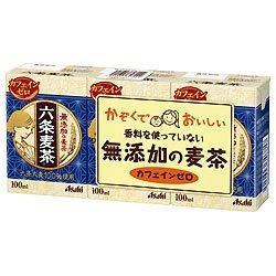 六条麦茶 100ml紙パック×36(18×2)本入×(2ケース)