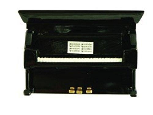 [해외]업라이트 피아노 3D 미니어처 악기 자석 Magent Upright Piano - Black/Upright Piano 3D Miniature Musical Instrument Magnet Magent Upright Piano - Black