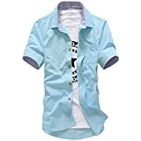 BUZZ WEAR [バズ ウェア] 半袖シャツ シャツ トップス コーデ カジュアルシャツ メンズ ワイシャツ