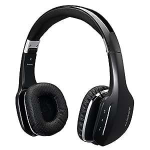 AUSDOM ワイヤレス ヘッドフォン Bluetooth 4.0 無線 有線可能 オンイヤー 高音質 ハンズフリー通話 折りたたみ式 タブレットPC スマートフォンなどに対応 M07 ブラック