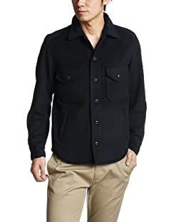 Beams Plus CPO Shirt Jacket 38-18-0900-139: Navy