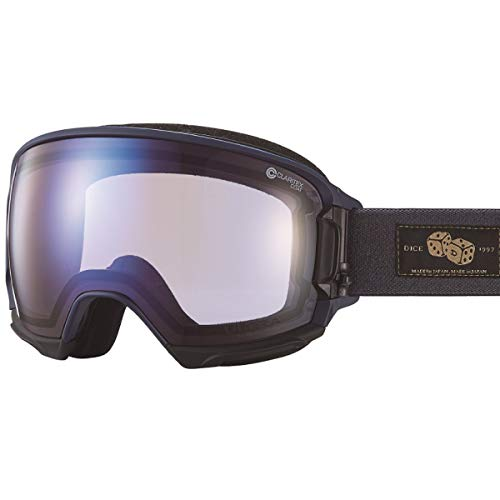 【国産ブランド】DICE(ダイス) スキー スノーボード ゴーグル ハイローラー ULTRAレンズ ミラー プレミアムアンチフォグ HR84165MNV