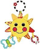 サッシー(Sassy) マイ・リトル・サンシャインミラー 赤ちゃんおもちゃ(0ヶ月から対象) 知育玩具 光る 鏡付き お鼻を押すとほっぺがピカピカ TYSA80379