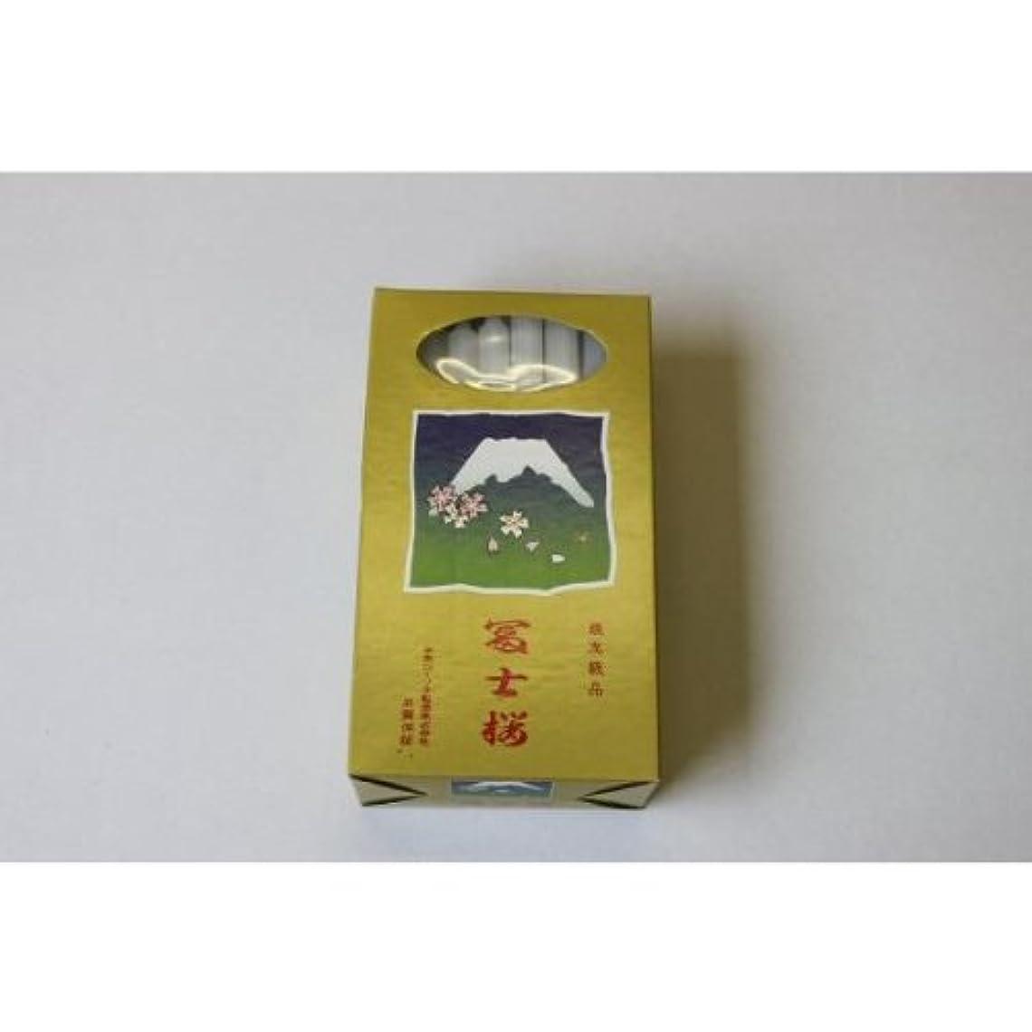 とてもスマイル強風富士桜ローソク3号40本入り