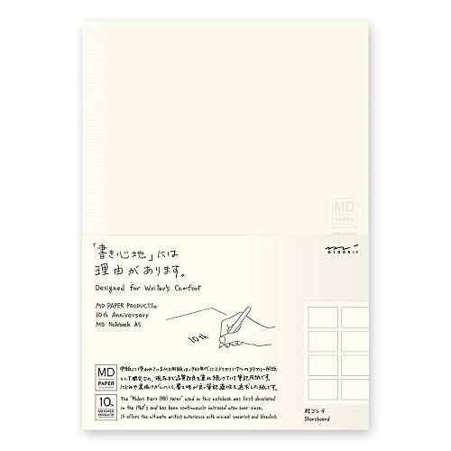 ミドリ ノート MDノート A5 10th 絵コンテ罫 15227006