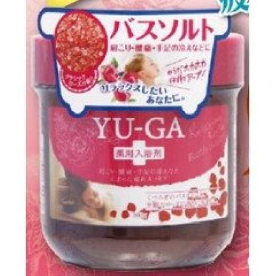 血色の良い委任するマージアクアノア YU-GAバスソルト ローズ 300g