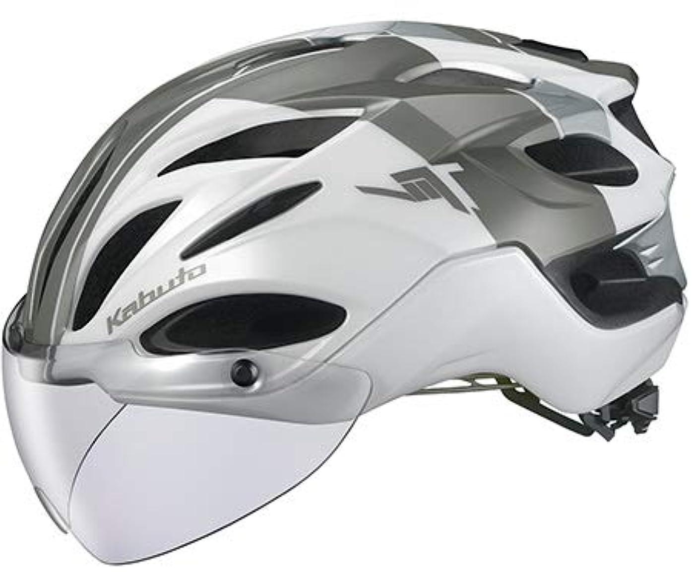 ヒールミネラル把握OGK Kabuto オージーケーカブト VITT ヴィット XL/XXLサイズ G-1パールホワイト ヘルメット