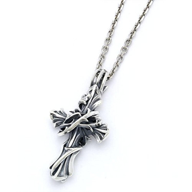 [エムズコレクション] Ms collection クロス トップチャーム ネックレス メンズ レディース 十字架 XP-015