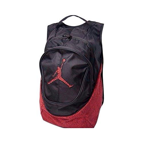 Nike ジョーダン バックパック 赤x黒 エレファント模様