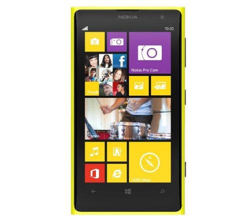 Nokia Lumia 1020 SIMフリー 32GB 海外携帯 (Yellow イエロー)