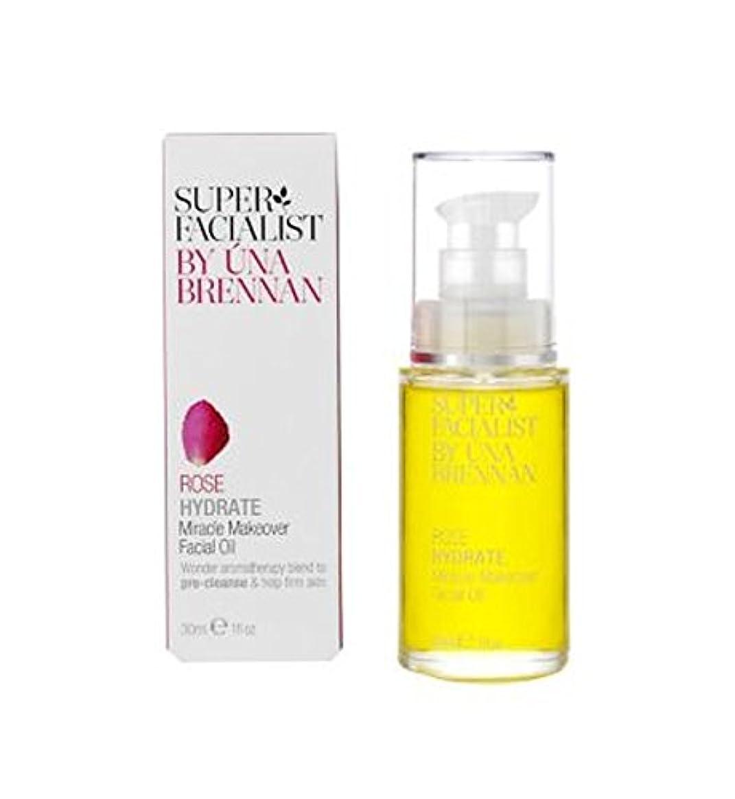 ベッドを作る戸惑うバンケットSuperfacialistは奇跡の変身フェイシャルオイル30ミリリットルをバラ (Superfacialist) (x2) - Superfacialist Rose Miracle Makeover Facial Oil...