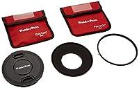WonderPana 145Essentials Kit–145mmフィルタホルダー、レンズキャップ& CPLフィルタfor Canon 8–15mm EF f / 4l魚眼レンズUSMレンズ(35mm)